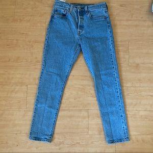 Levi's 501 skinnies